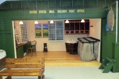 railway postal car